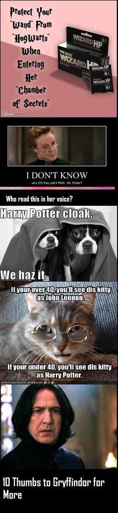 Harry Potter Humor         P.S. I read it in her voice ^-^