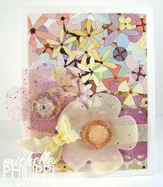 Fabric Flowers using Nesties