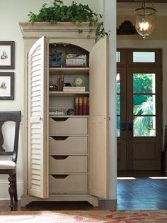 Universal Furniture Paula Deen Home Paula Deen Corner Cupboard in ...