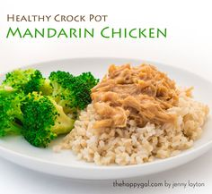 Healthy. Crock pot. Easy. Delicious. What else do you need in a dinner recipe?!! You're gonna love this one!
