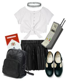 Dropping out of school to join a gang by lexieorlando on Polyvore featuring polyvore, moda, style, Karl Lagerfeld, Topshop, fashion and clothing