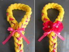 Handmade gift: DIY Rapunzel Hair Tutorial by A Thousand Phases