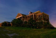 The Forgotten Home by Noel Kerns, via Flickr  Archival shot of the long-abandoned Woodmen's Circle Home in Sherman, Texas