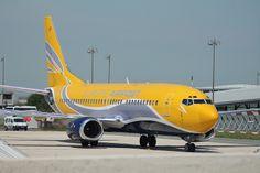 Boeing 737: 24388 F-GFUF 737-3B3(QC) Europe Airpost Paris CDG Airport