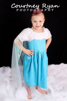Elsa frozen play dress