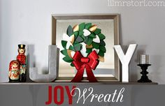 Joy Wreath Sign | Lil Mrs Tori