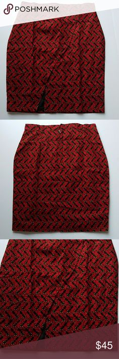 """Ankara Print  Red Asymmetric skirt Size L. Beautiful stunning hand made fashionably Ankara  skirt with back zip closure and slit in front & back.   Perfect for all occasion.  The skirt can be expanded with extra material well sewn in.  Hand made.  Print are best hand washed.  Measurements  flat- Waist -18"""" Length'25"""" Hip-22 1/2""""  📍📌📬Add my closet to your favorite for new arrivals. I add new items to my closet every week.  ❌🚫No trading. ❌🚫 No lowballing ✔Offers through offer button only…"""