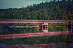 Clarion River Reservoir in Cook Forest, Pennsylvania