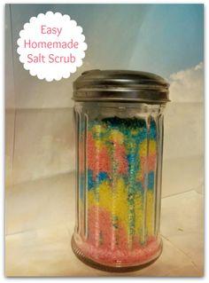 Homemade hidden flower soap salt scrub diy salt scrub recipe homemade salt scrub do it yourself spa day http solutioingenieria Gallery
