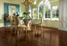 Brown wood flooring