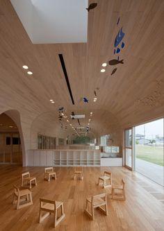 Leimond-Shonaka Nursery School by Archivision Hirotani Studio | furniture + built-in modules