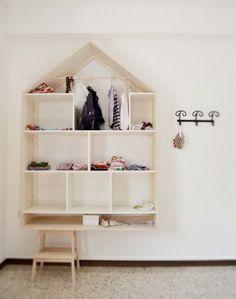 Talohylly/shelf house