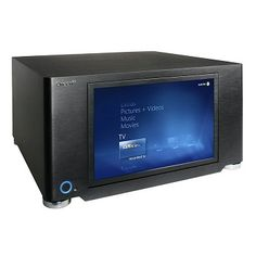 "OrigenAE S21T HTPC Case with 12.1"" Touchscreen Display - Black"