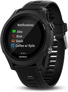 Garmin 010-01746-00 Forerunner 935 Running GPS Unit, Triathlon Watch with Wrist-Based Heart Rate, Black, BROAGE Data ... Running Gps, Running Watch, Smartwatch, Triathlon Watch, Fitness Tracker Reviews, Best Swimming, Swimming Fitness, Thing 1, Shopping