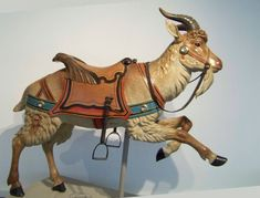 National Carousel Association - Shelburne Museum Dentzel - Dentzel Goat Victorian Dollhouse, Modern Dollhouse, Transfer Images To Wood, Shelburne Museum, Antique Restoration, Miniature Dolls, Miniature Houses, Carnival Themes, Merry Go Round