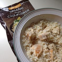 Breakfast bowl that is oatmeal-esque. Sautéed the Trader Joe's cauliflower rice in ghee for 4 minutes and then added chunks of leftover barbecue chicken and cooked for 1 more minute. Easy summer eats! #paleo #paleodiet #paleolifestyle #paleolife #paleoparisian #whole30challenge #whole30 #julywhole30 #whole30july #whole9 #grainfree #glutenfree #dairyfree #jerf #lowcarb #lchf #lowcarbhighfat #21dsd #wholefood #wholefoods #realfood #eatingclean #weightloss #weightlosstransformation…