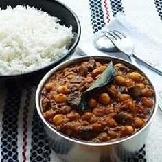Chickpea and Mushroom Curry- Rich and wonderfully aromatic, with spices that create a warm, long-lasting aftertaste. Easy to make and highly nutritious.