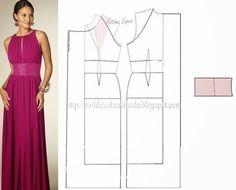 Ideas para el hogar: 8 Modelos con patrones de costura de vestidos