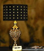 Gold Ameer Table Lamp * Hospitality Orders Only