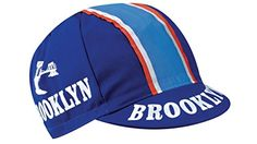 Men's Cycling Caps - Brooklyn Mens Pro Team Vintage Retro Euro Cycling Cap *** Check this awesome product by going to the link at the image.
