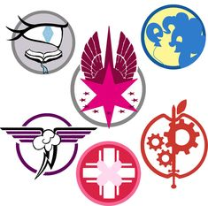 Fallout: Equestria Ministry Emblems by tomcullen on DeviantArt