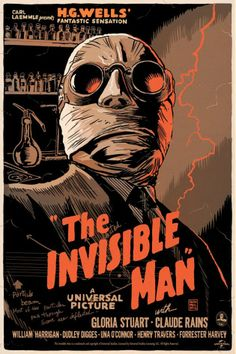 """The Invisible Man"" by Francesco Francavilla 