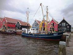 fishing boats Zoutkamp Groningen
