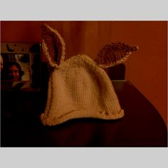 My mum made this bunny hat for me ❤