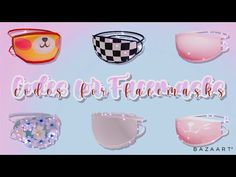 Code Wallpaper, Cool Avatars, Roblox Codes, Simple Acrylic Nails, Roblox Pictures, Unique House Design, Lace Mask, Face Stickers, Face Id