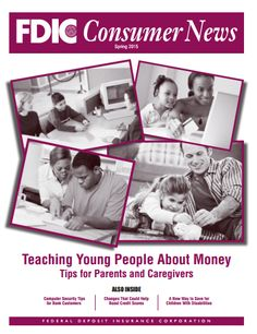 It's never too early or too late to introduce everyday financial concepts to a young person. And, you don't have to be a financial expert. Here are tips from FDIC Consumer News to help parents, guardians and caregivers show a child — from a preschooler to a college kid — why and how to become responsible with #money. #Printable.