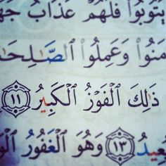 That is the great triumph (85:11)