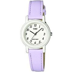 Call @ 9769465202. Catch Casio LQ-139L-6BEF Ladies Lilac Leather Strap Watch for your lady from Shopattack.in at the price of Rs.2773/- only.