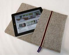 filz ipad mini h lle kindle tasche tablet h lle von loka89 auf filz pinterest. Black Bedroom Furniture Sets. Home Design Ideas