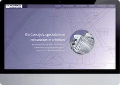 Derniere réalisation : création du site web de l'entreprsie coeur joly à Soubise (17) spécialiste de l'usinage aéronautique. a voir sur http://www.consultant-internet-pme.com/