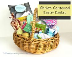 Christ-Centered Easter Baskets | Family Home Evening Lessons - I love this!! She includes print-outs!! Very creative!!