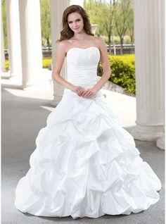 Ball-Gown, Spring, Summer, Wedding Dresses 2015, Cheap Wedding Dresses Under 100 - JJsHouse