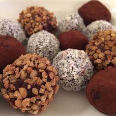 Supersnelle chocoladetruffels!