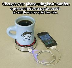 Coolest way to charge your phone…