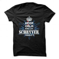 SCHRYVER - #housewarming gift #shirt diy