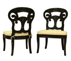 Verona Club Side Chairs - Set of 2 | Guildmaster | Home Gallery Stores