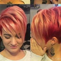 Short hair models changes according to shape of our face. Especially looks good on women with round and oval face structures. Short Hair Model, Short Hair Cuts, Short Hair Styles, Face Structure, Oval Faces, Funky Hairstyles, Pixie Cut, Cut And Style, Hair Dos