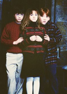 The early stages of the Golden Trio.