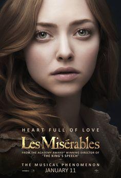 Amanda Seyfried in Les Miserables