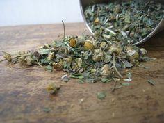 Nerve Formula that brings relief from Headaches: An Organic Herbal Tea