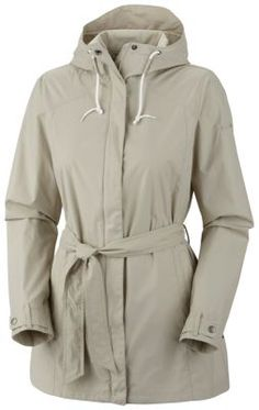 Treated to resist rain-and-stains, this sleek trench offers style, protection and comfort on chilly days. (Columbia)