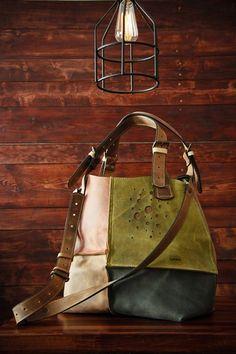 handmade leder handtasche  leder bag designt farbe von LADYBUQ auf DaWanda.com