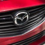 2016 Mazda 6 Sedan Car Front Logo