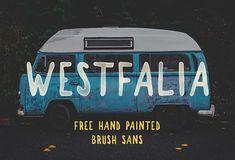 WESTFALIA - FREE FONT on Behance