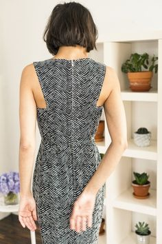 Oof, how flattering is the back of this Thomas Sires dress? Holy moly ravioli. —erica