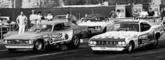 EARLY DAYS The rivalry of Tom McEwen and Don Prudhomme helped popularize drag racing. Above, their Plymouth funny cars, in the 1971 Mattel Hot Wheels livery of the Snake and the Mongoose. Funny Car Drag Racing, Funny Cars, Auto Racing, Hot Wheels Cars, Hot Cars, Vintage Racing, Vintage Cars, Don Prudhomme, Snake And Mongoose